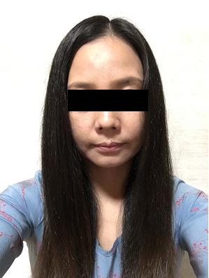 40代女性の顔