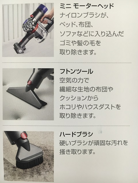 3つの付属ツール