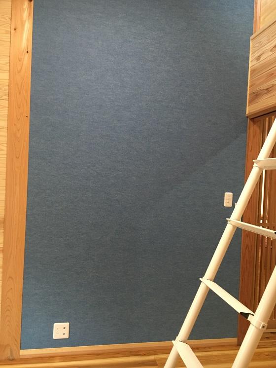 息子の部屋の壁紙