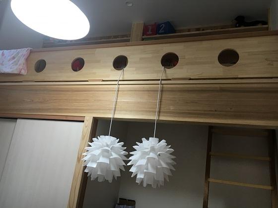 娘の部屋のロフト