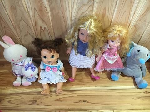 ロフトのお人形
