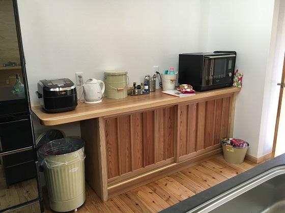 我が家の食器棚