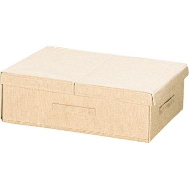 無印良品のボックス収納(蓋つき)