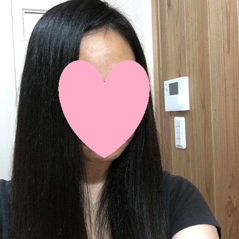 ケラスターゼのオイルで仕上げたときの髪