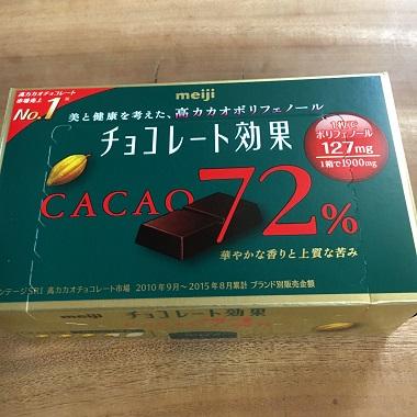 チョコレート効果
