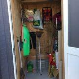 【WEB内覧会 物置】家の外から入る物置き部屋は使い勝手良し!