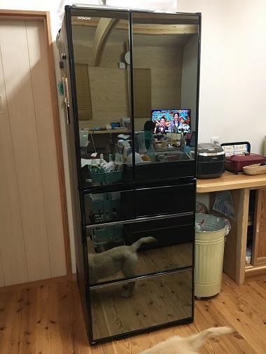 我が家の日立の冷蔵庫