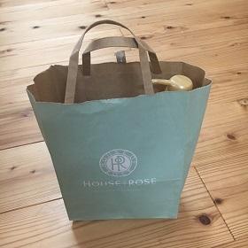 ハウスオブローゼで買い物した袋