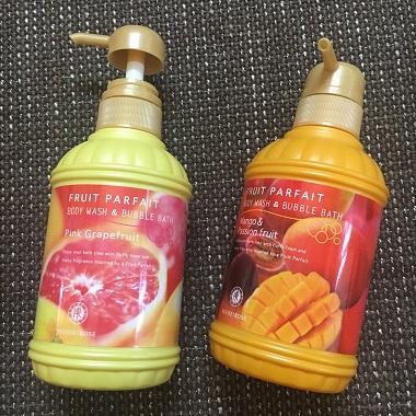 フルーツパルフェ ピンクグレープフルーツとマンゴー&パッションフルーツの香り
