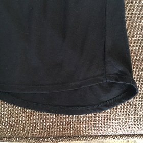 GUのブラフィールの裾