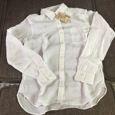 ○○良品のシャツ