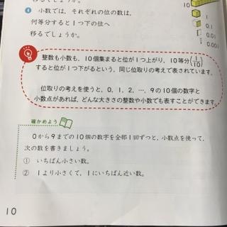 算数の教科書豆電球のマーク