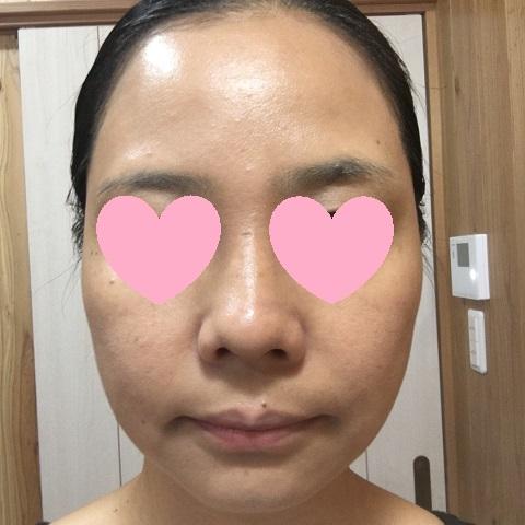 米肌【澄肌CCクリーム】でメイクした私の顔