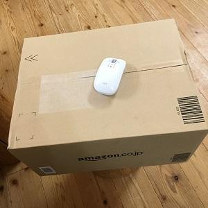 箱とマウス