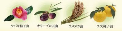 厳選した4種の100%天然植物オイル